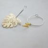 monstera-brass-lightening-hoop-earrings-homeofjuniper-jewellery