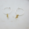 silver-brass-lightening-hoop-earrings-homeofjuniper-jewellery