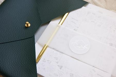 botanical-writing-set-envelope-pouch-homeofjuniper-gift