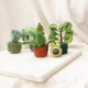 felt-plant-decorations-mini-bee-lajuniper-fairtrade