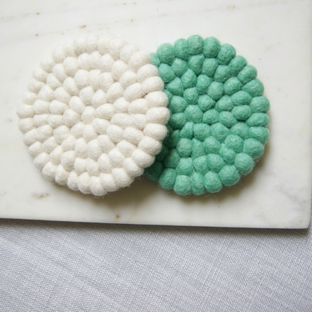 cream-green-wool-coasters