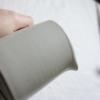 tall-conical-cream-ceramic-jug
