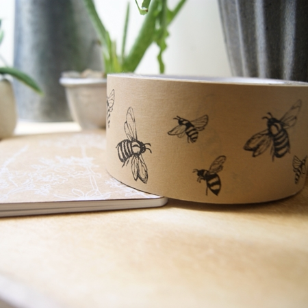 bee-tape-on-desk