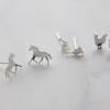 silver-horse-goose-chicken-earrings