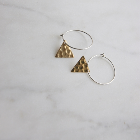 brass-triangle-hoops