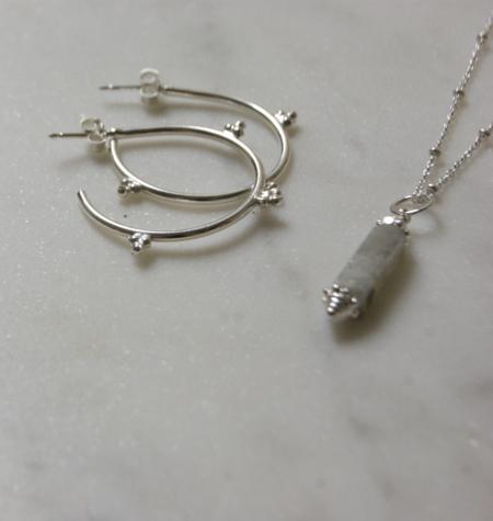 Labradorite Boho necklace