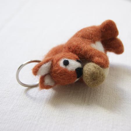 Squirrel-keyring-fair-trade-stocking-filler